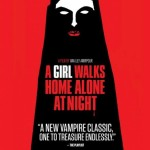 Una vampira iraniana con chador in A Girl Walks Home Alone at Night
