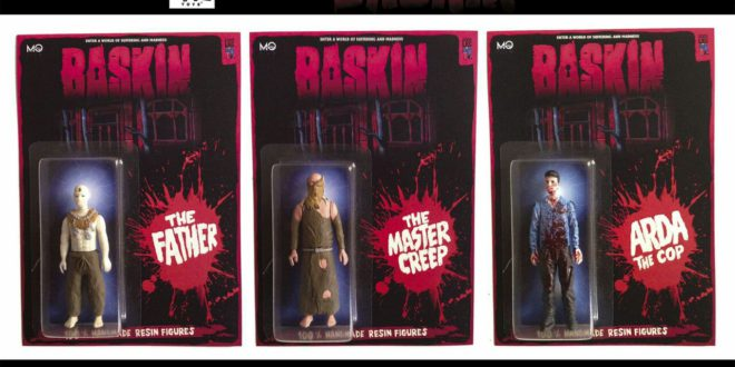 Disponibilità limitata per le action figure dell'horror Baskin