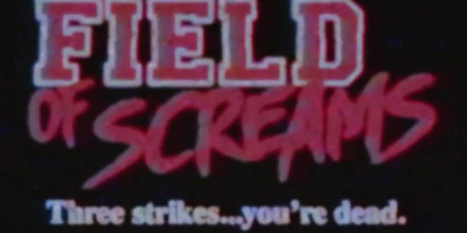 Splatter e metal nel trailer del retro slasher Field of Screams