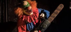 Un clown assassino nel circo dell'orrore in Circus Kane – Il trailer