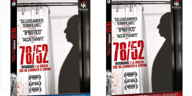 78/52 in doppio Blu-ray e doppio DVD con Midnight Factory