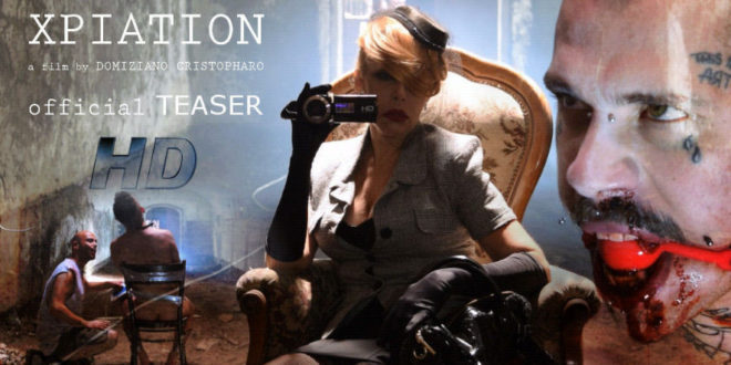 Xpiation: rivelato il teaser trailer dell'horror estremo di Domiziano Cristopharo
