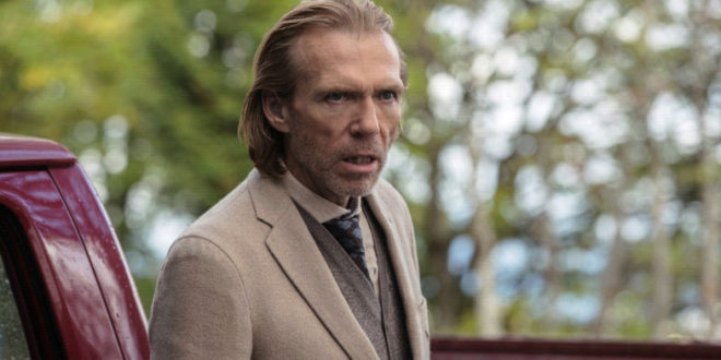 Una foto di Richard Brake dal set di 3 from Hell