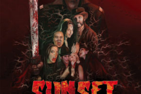 Sunset Society: il poster dell'horror con Lemmy, Steve-O e Ron Jeremy
