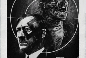 The Man Who Killed Hitler and Then The Bigfoot: il poster del film horror