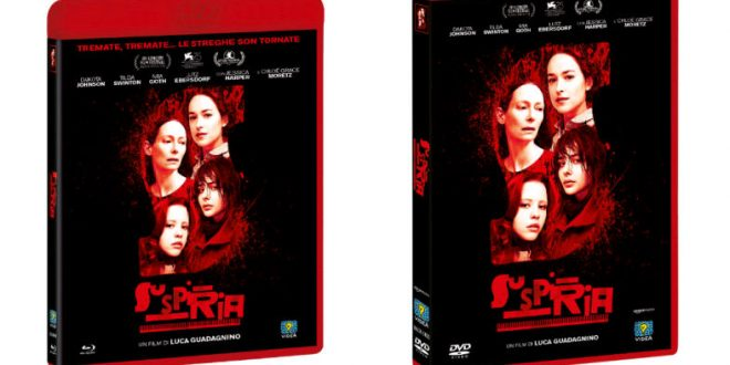 Suspiria: in DVD e Blu-ray ad aprile con Eagle Pictures