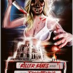 Killer Babes and the Frightening Film Fiasco: il poster del film horror
